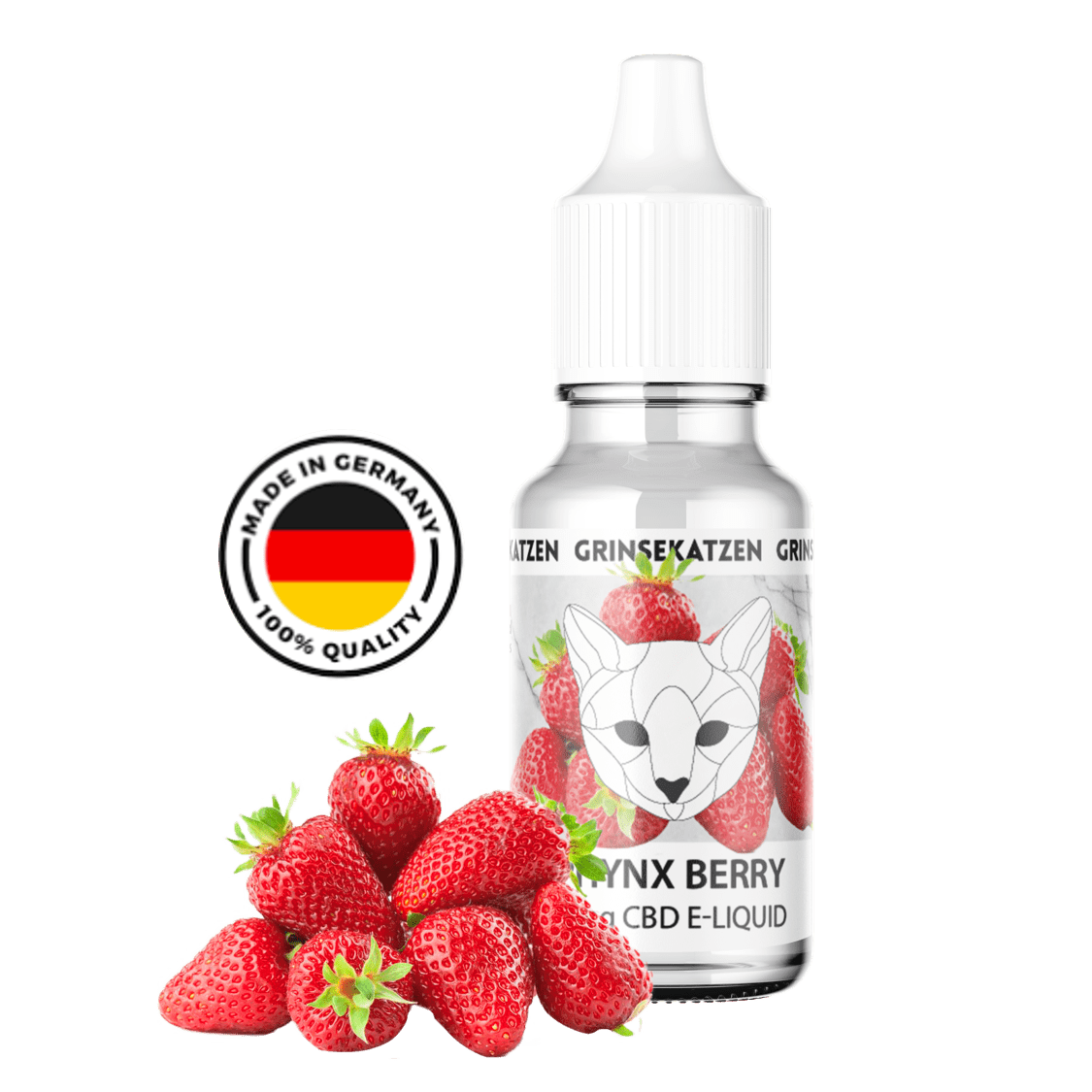 Erdbeer CBD Liquid Sphynx Berry 10ml - 400 mg CBD