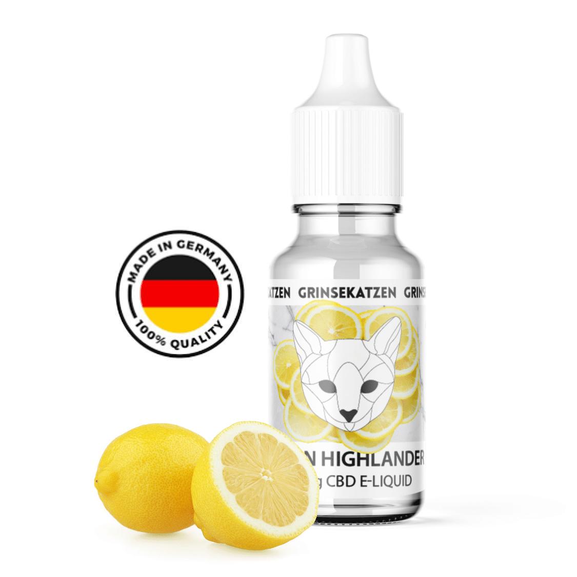 Lemon Haze CBD Liquid Lemon Highlander - 400mg CBD